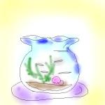 念願の「昔ながらの金魚鉢」です